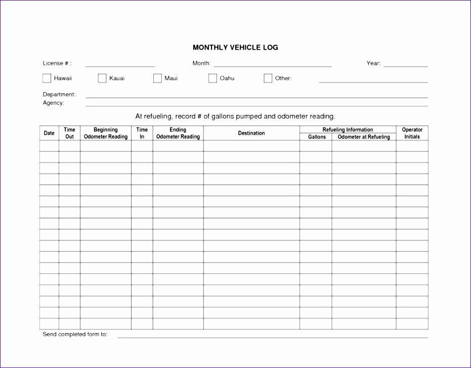 vehicle log book template excel u4606