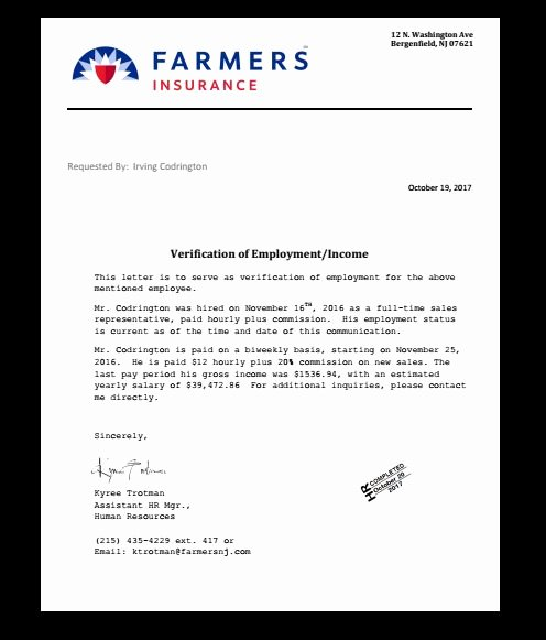 Alarm Certificate for Insurance Template Luxury Insurance Policy Verification Letter In 2019