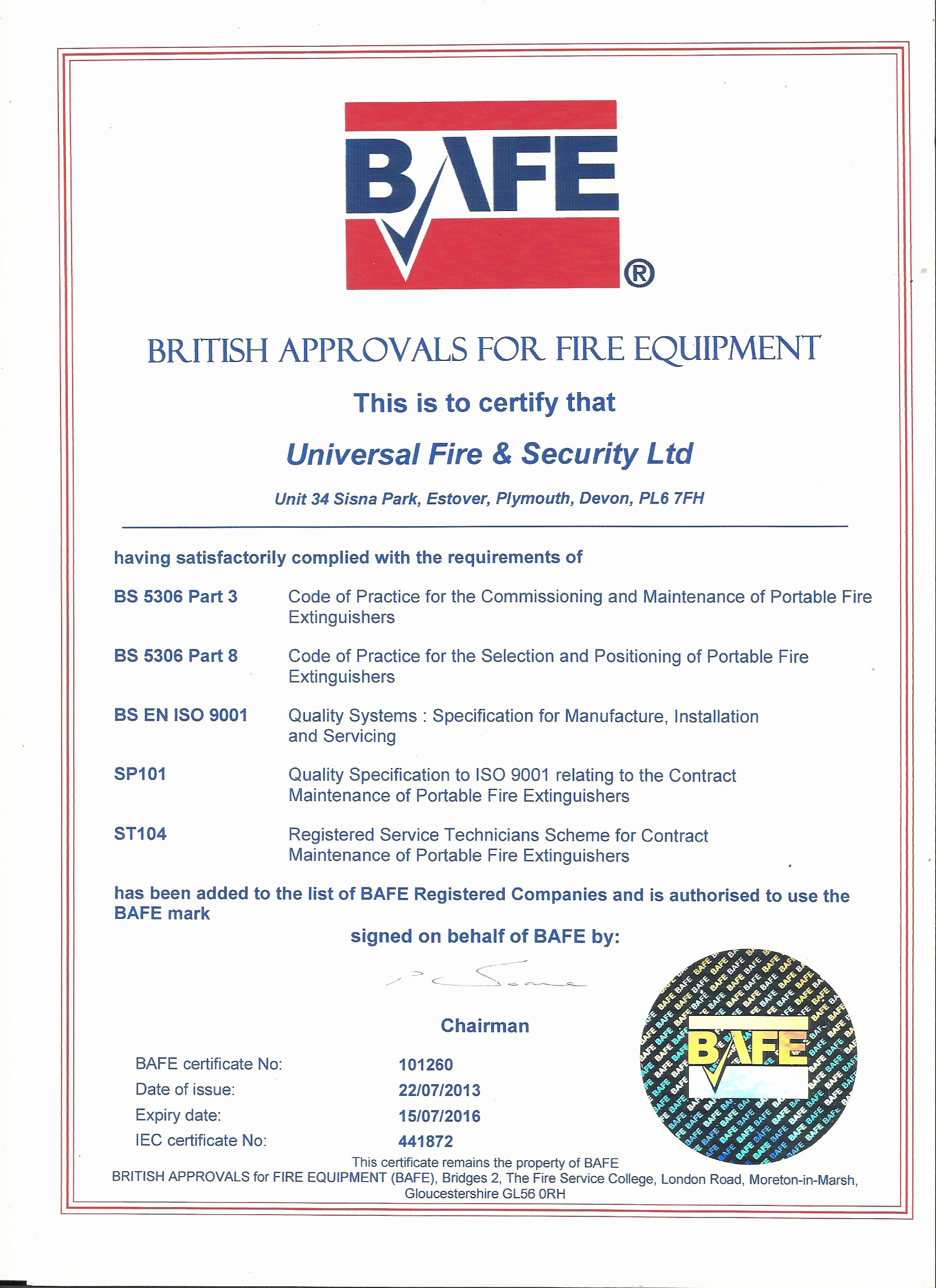 Alarm Monitoring Certificate Template Awesome Fire Extinguisher Maintenance Plymouth