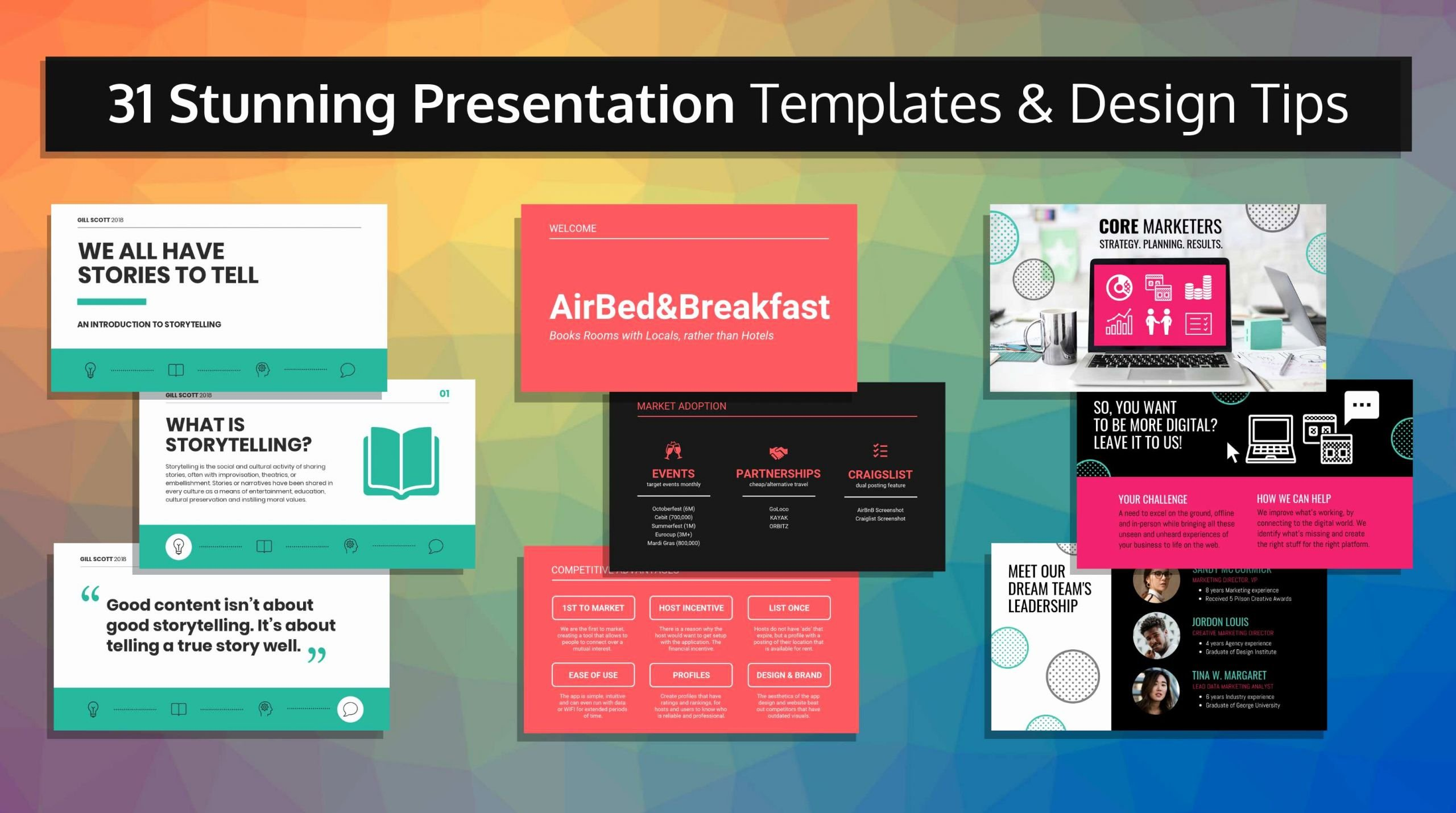 All About Me Powerpoint Template Best Of 31 Stunning Presentation Templates and Design Tips