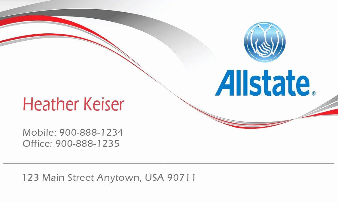 Allstate Insurance Card Template Beautiful 30 Allstate Insurance Card Template