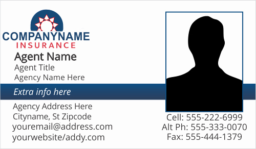 Allstate Insurance Card Template Fresh Farmers Allstate American Family Insurance Business Card