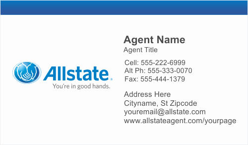 allstate business cards