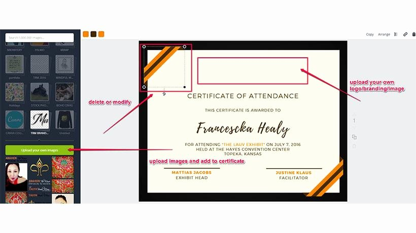 Altar Server Certificate Template Elegant 6 Steps to Effective Certificate Design Elearning Industry