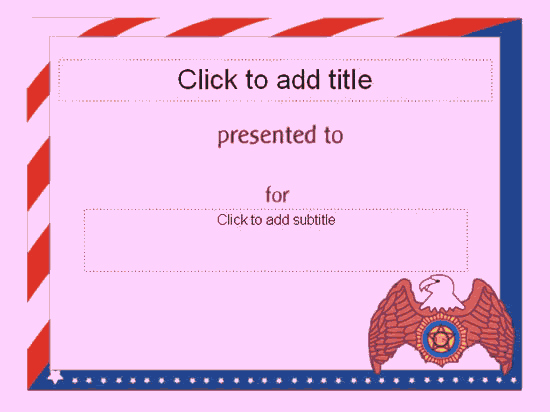 American Flag Certificate Template Inspirational Award Certificate American Flag Design Free