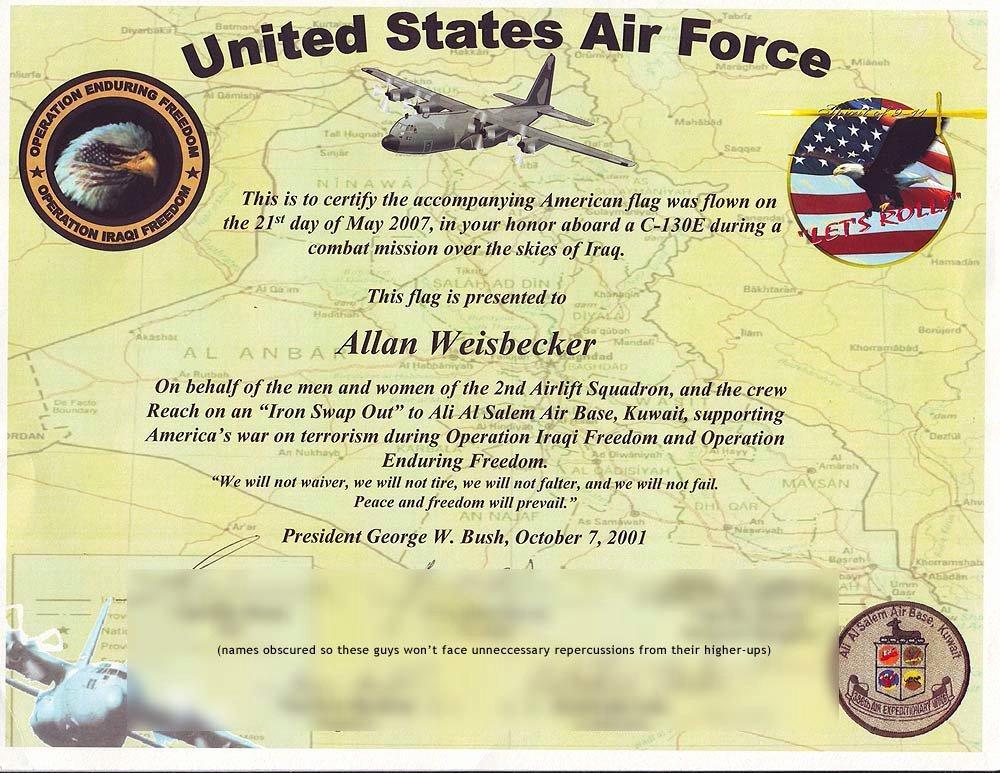 American Flag Certificate Template Inspirational Iraq Certificate