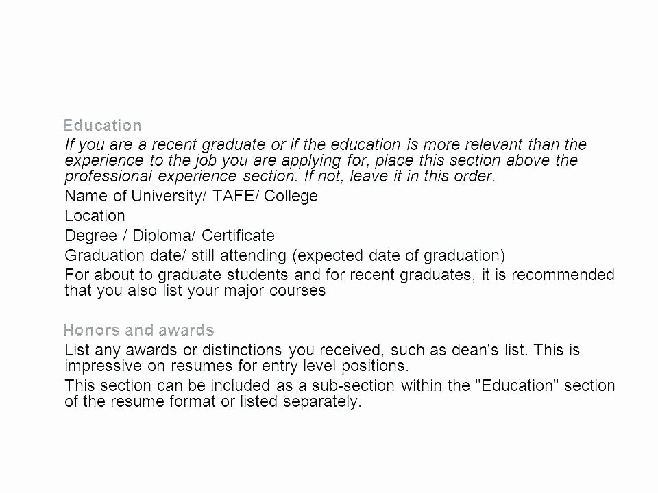 Anticipated Graduation Date On Resume Beautiful Expected Date Of Graduation On Resume – Airexpresscarrier