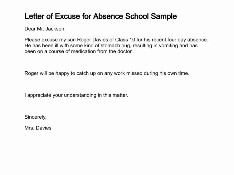 Apology Letter for Not attending An event Unique Application for Not attending School Meeting