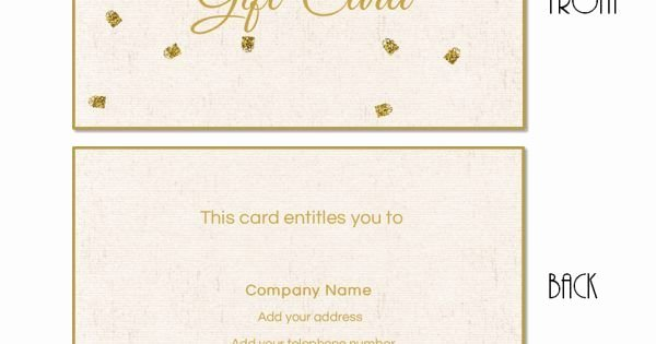 Arbonne Gift Certificate Template Fresh Free Printable T Card Templates that Can Be Customized