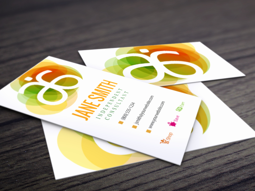 Arbonne Gift Certificate Template Unique Pin by Mlm Cards On Arbonne Business Cards
