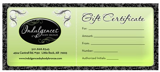 Arbonne Gift Certificate Template Unique Spa Gift Certificate Design
