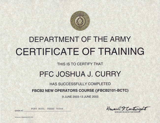 Army Award Certificate Template Fresh 27 Of Marine Training Pletion Certificate