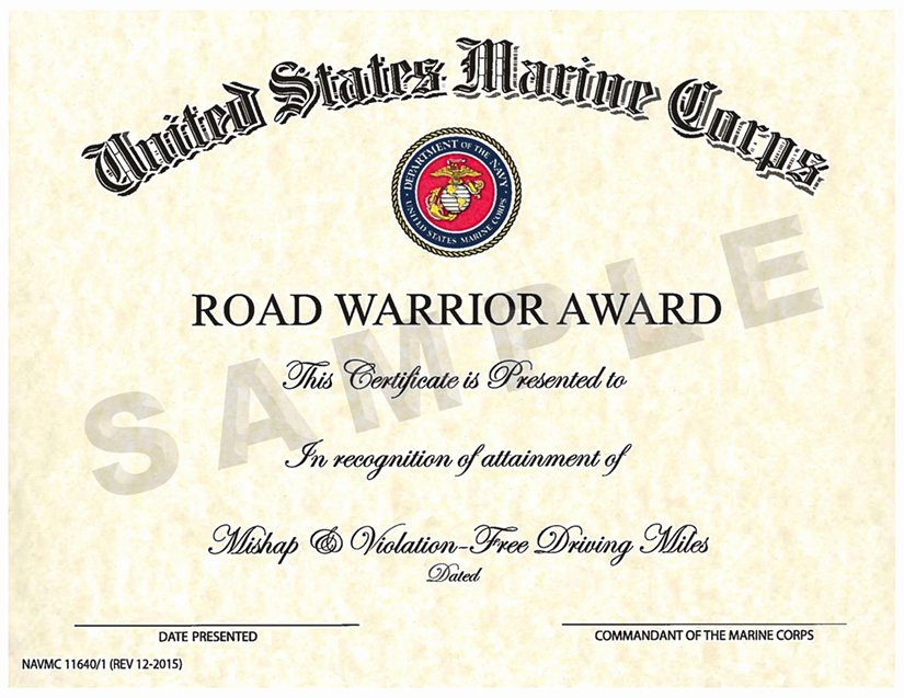 Army Award Certificate Template Unique Safety Awards Programs