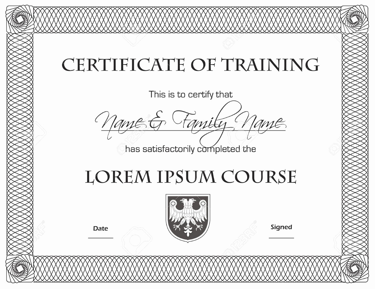 Army Certificate Of Achievement Template Beautiful 28 Of Army Certificate Achievement Template Word