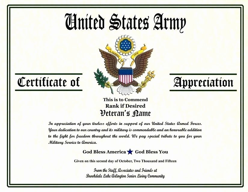 Army Certificate Of Achievement Template Elegant Army Achievement Medal Certificate Template – Abcrecycling