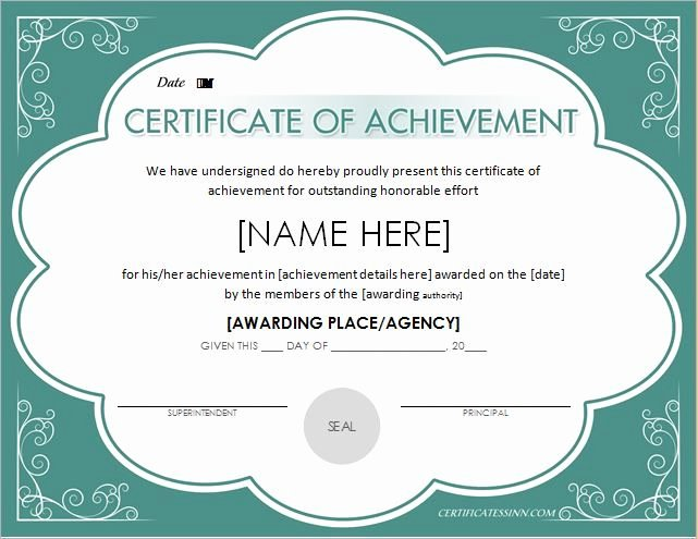 Army Certificate Of Achievement Template Lovely Pin by Alizbath Adam On Certificates