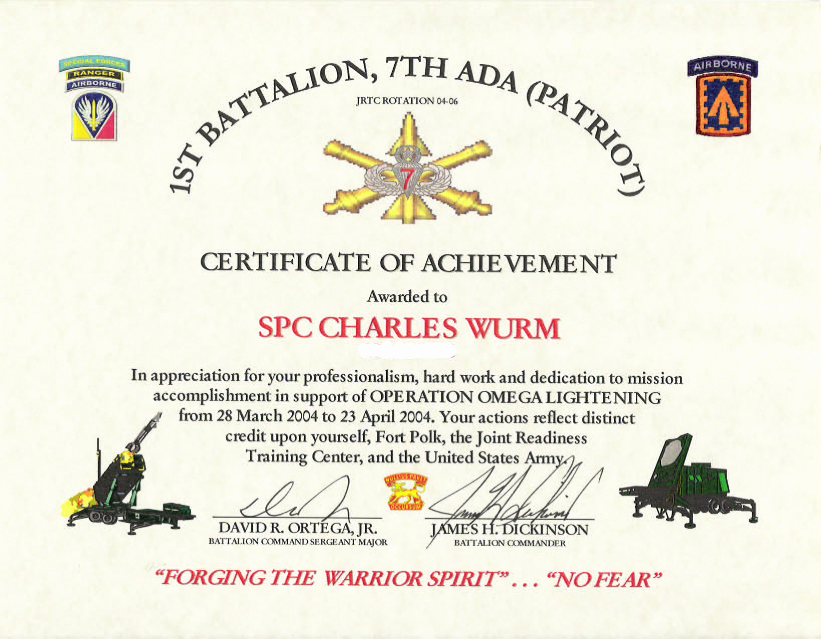 Army Certificate Of Achievement Template Luxury Education Awards