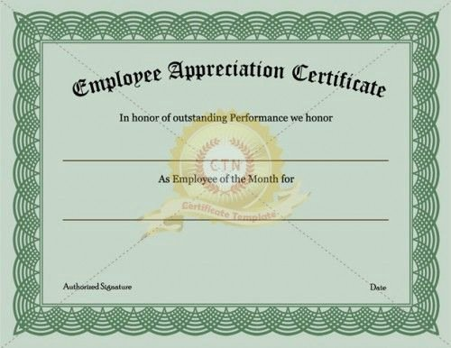 Army Certificate Of Appreciation Template Ppt Awesome Tificate Template Employee Appreciation