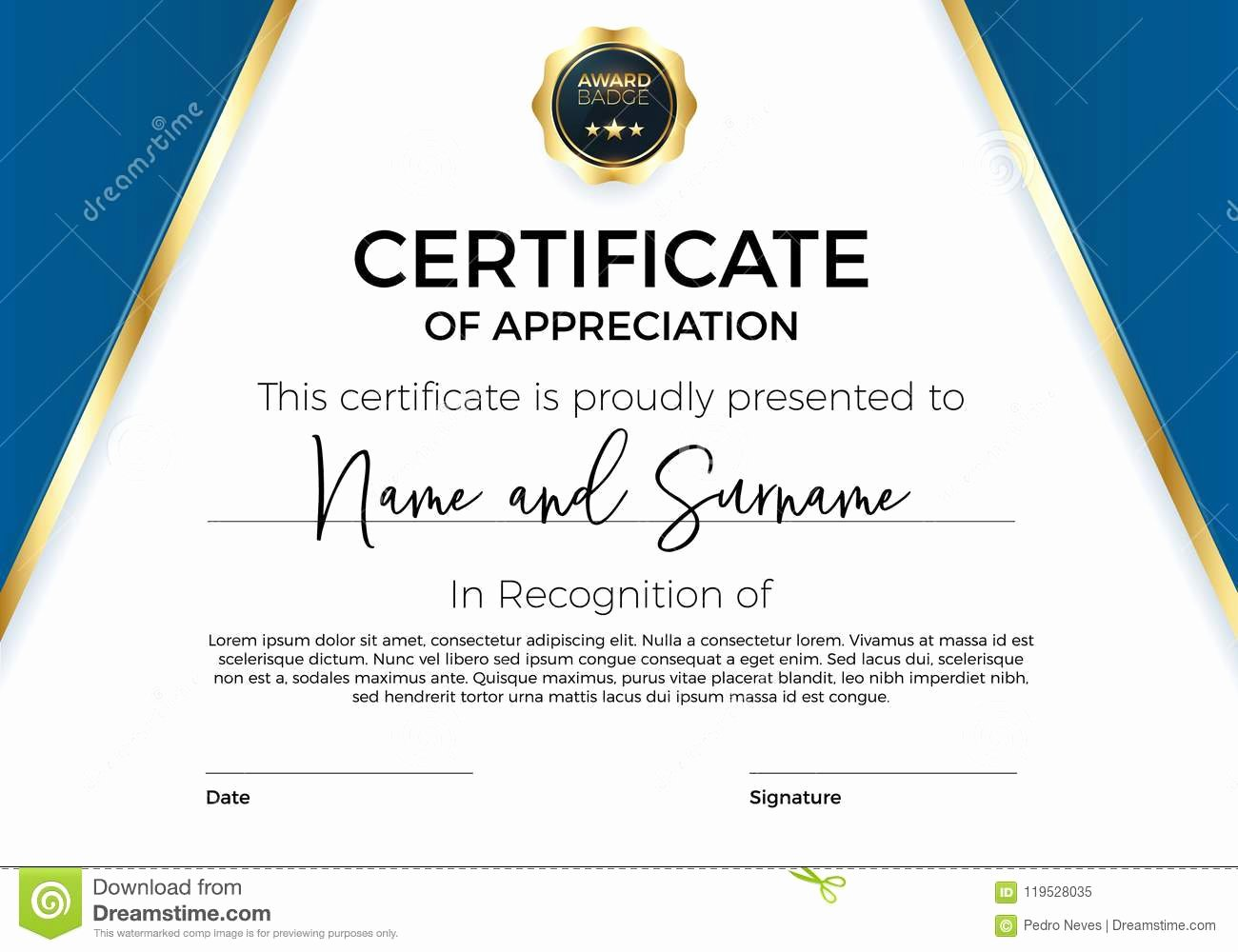 Army Certificate Of Appreciation Template Ppt Best Of Certificate Appreciation Achievement with Award