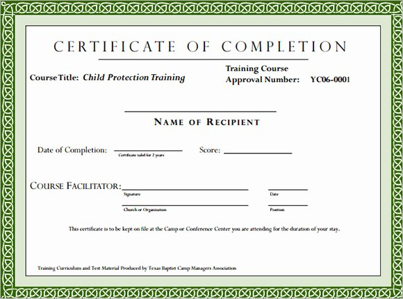 Army Certificate Of Training Template Best Of Training Certificate format Doc