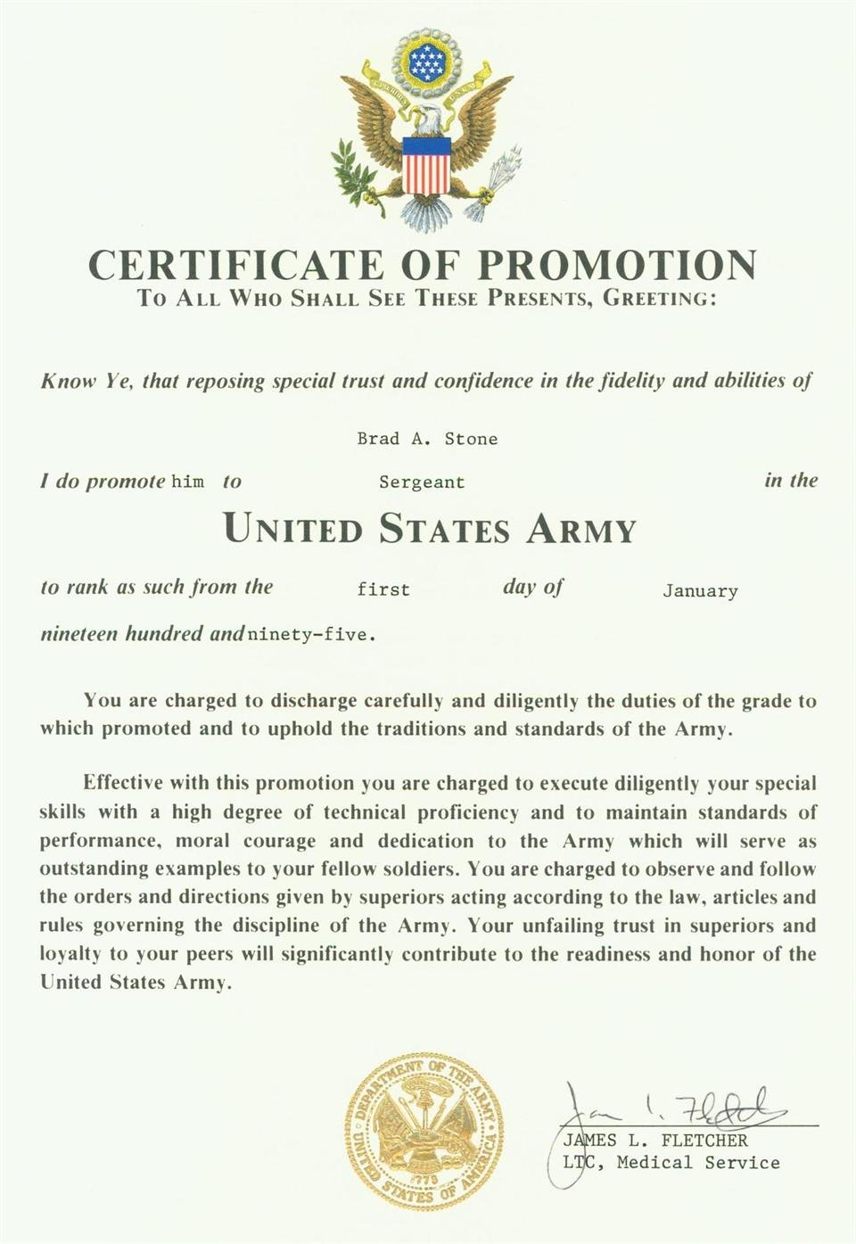 Army Cls Certificate Template Awesome Army Promotion Invitation Template