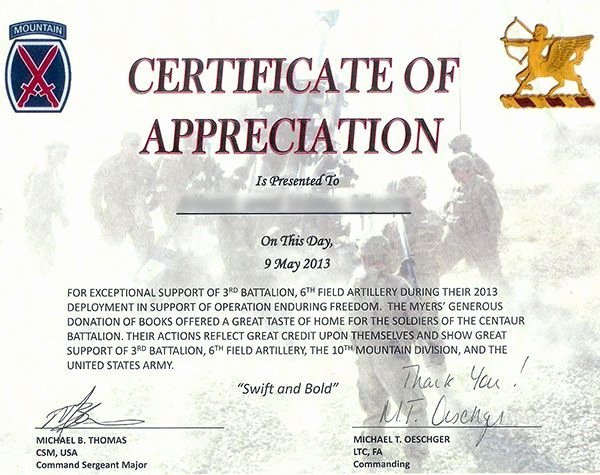 Army Cls Certificate Template Awesome Military Certificates with Flag