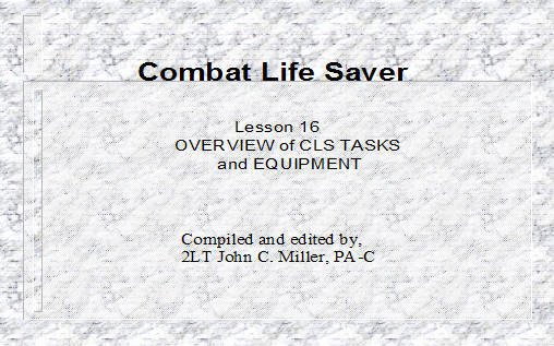 Army Cls Certificate Template Best Of Overview Of Cls Tasks and Equipment Armystudyguide