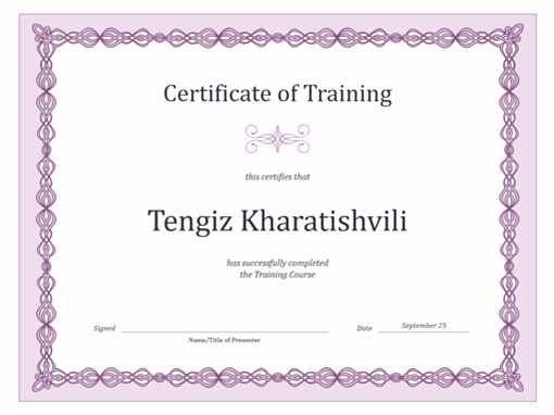 Army Drivers Training Certificate Template Elegant Certificates Fice