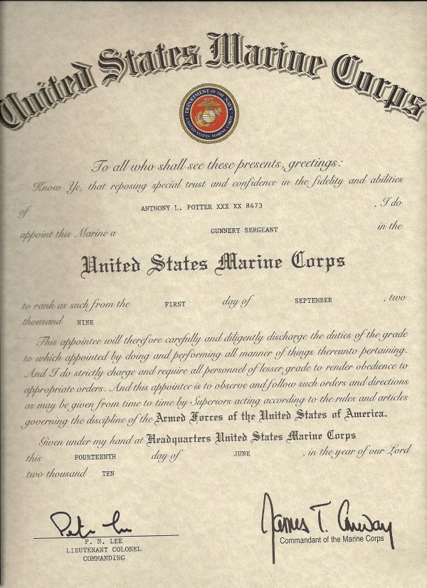 Army Officer Promotion Certificate Template Best Of 26 Of Usmc Ficer Promotion Warrant Template