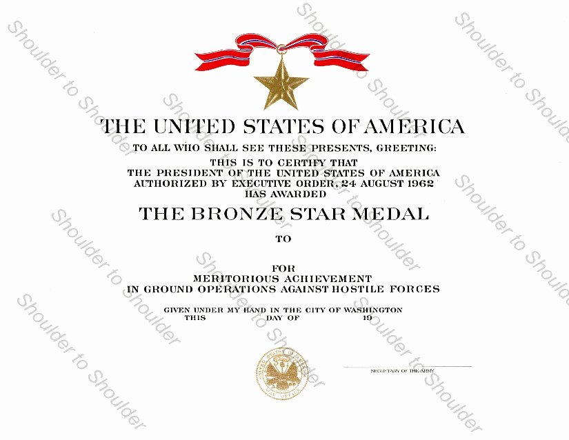 Army Officer Promotion Certificate Template Fresh Promotion Promotion Warrant