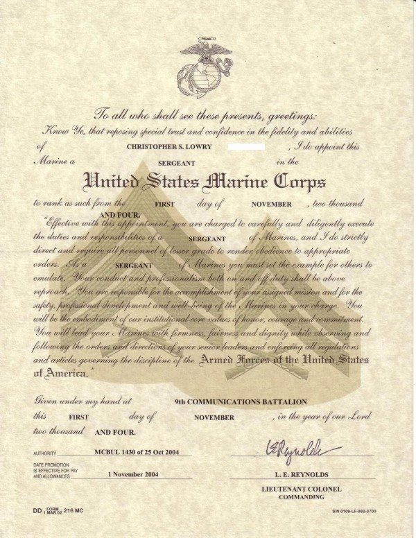 Army Officer Promotion Certificate Template Luxury Warrant Ficer Promotion Certificate
