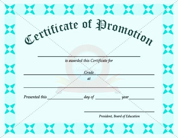 Army Officer Promotion Certificate Template New Promotion Certificate Template
