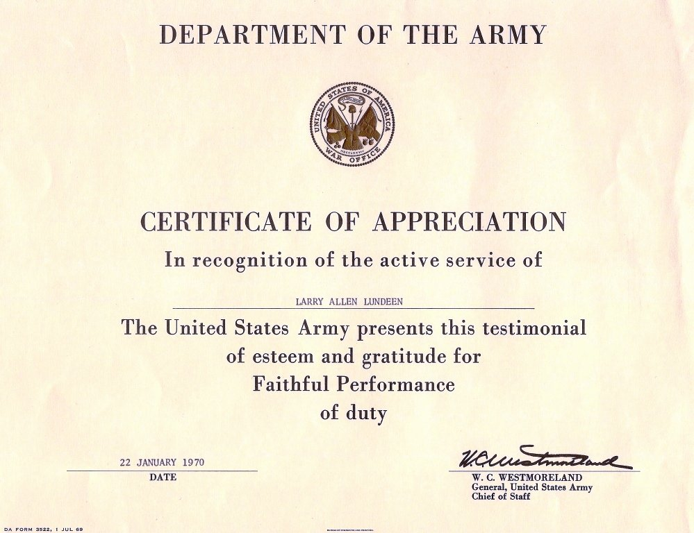 Army Promotion Certificate Template Best Of Untitled 1 [a70thvets]