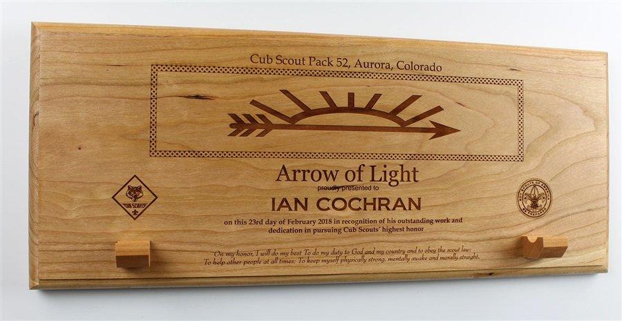 Arrow Of Light Award Plaque Kit Best Of Arrow Of Light Award Plaque
