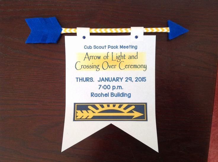 Arrow Of Light Award Template New 1000 Images About Cub Scouts Arrow Of Light On