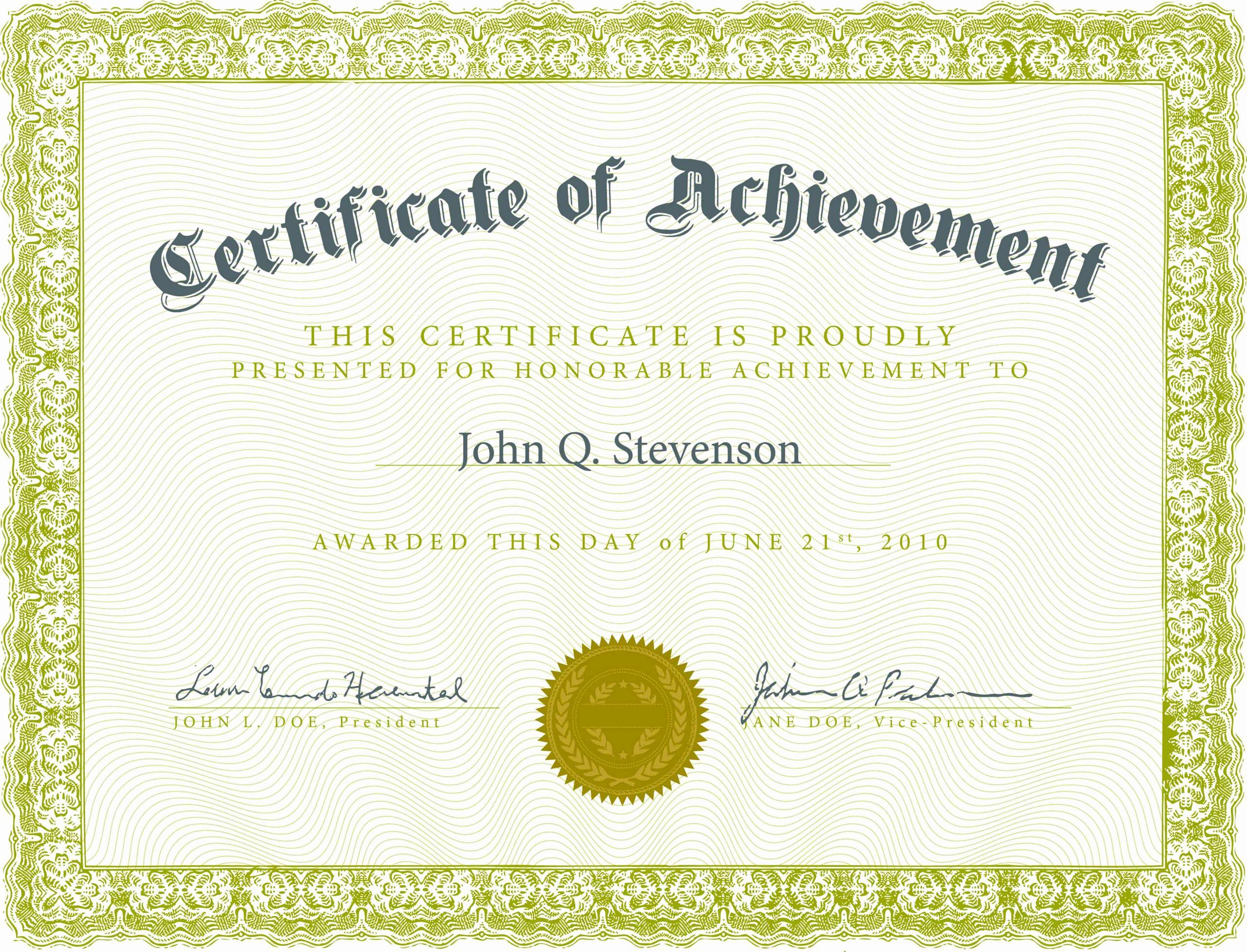 Art Award Certificate Template Free Inspirational New Blank Certificate Printable