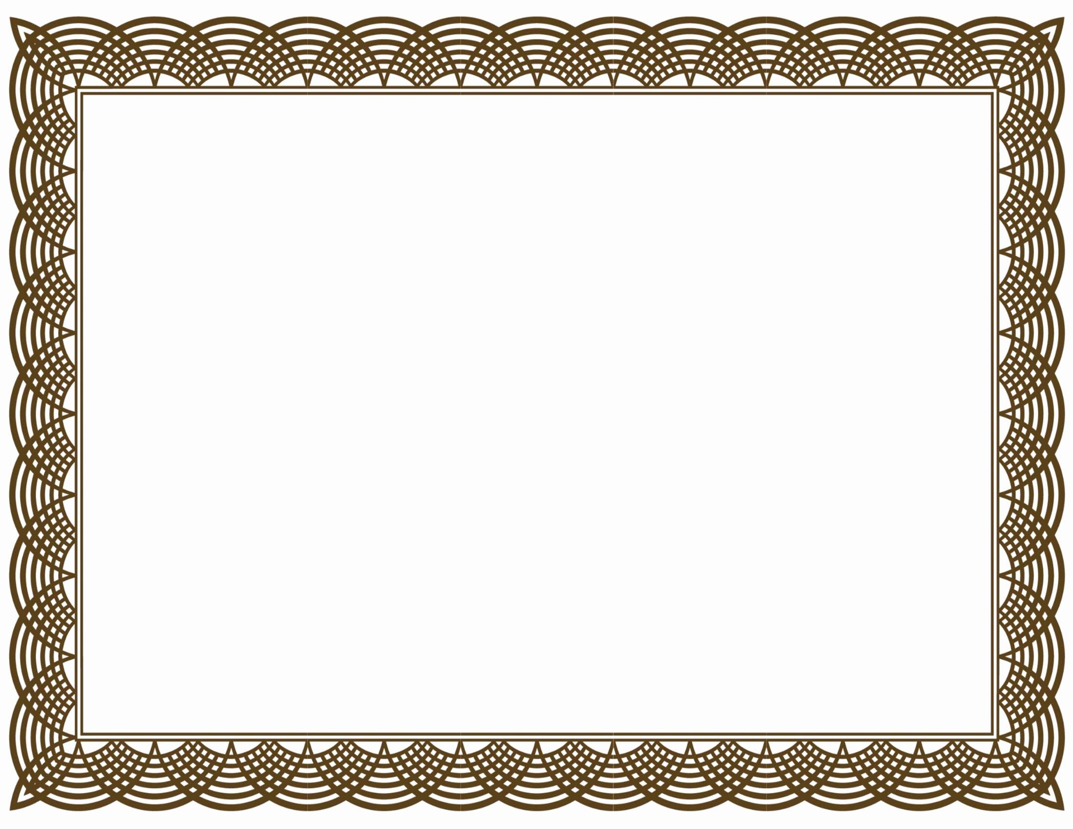 Art Award Certificate Template Free Unique 20 Printable Certificate Borders