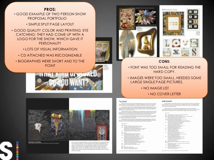 Art Exhibition Proposal Sample Elegant Preparing for An Artist Portfolio Review or Presentation