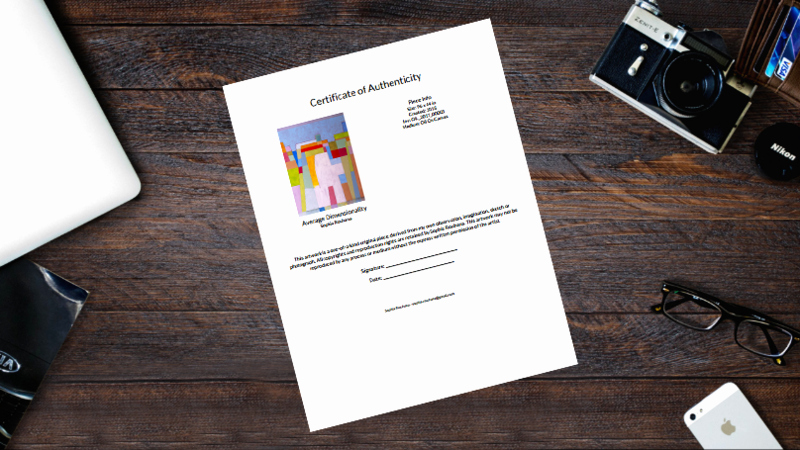Artwork Certificate Of Authenticity Template Elegant Do You Need A Certificate Of Authenticity for Your