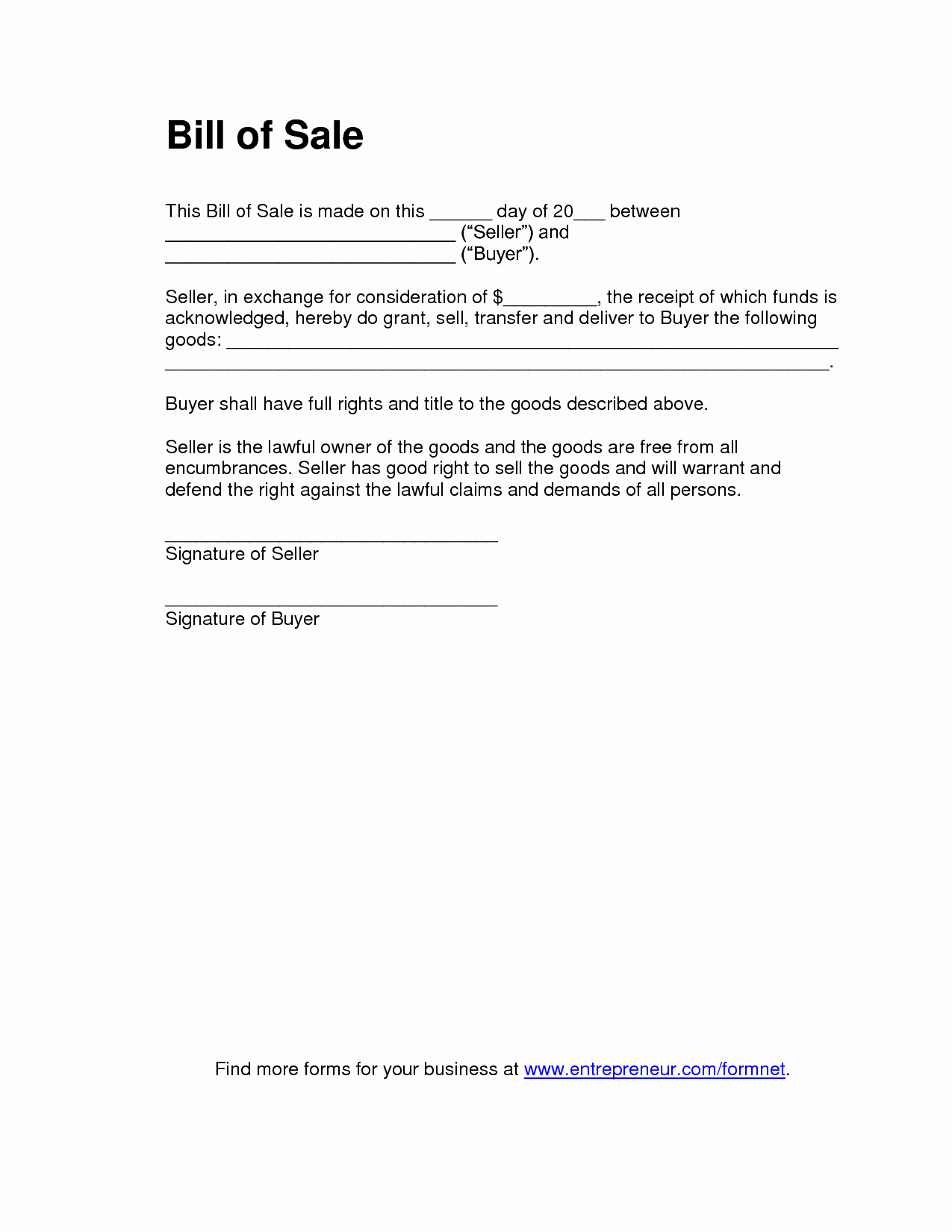 As is Bill Of Sales Unique Free Printable Tractor Bill Of Sale form Generic