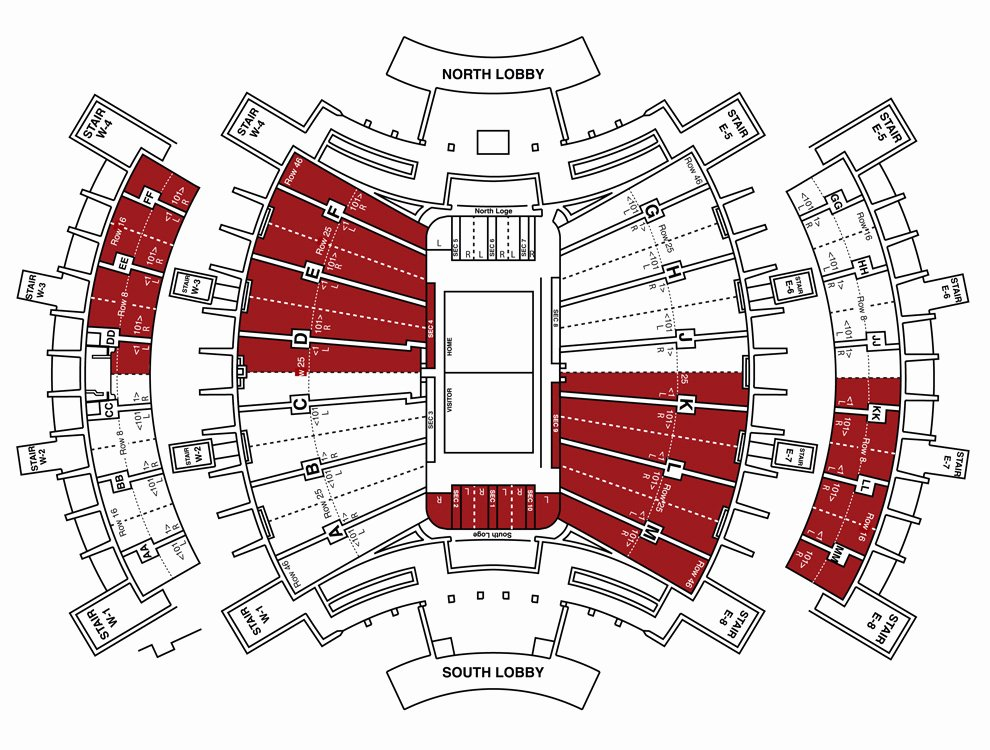Assembly Hall Seating Chart New Making the Crimson Guard A Better Student Section