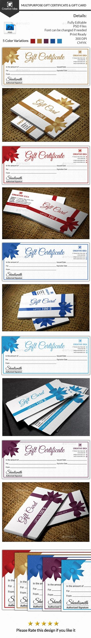 Auction Item Certificate Template New Best 25 Gift Certificates Ideas On Pinterest