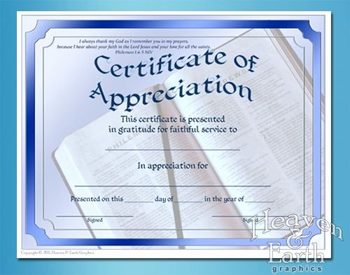 Auction Winner Certificate Template Inspirational Appreciation Certificates