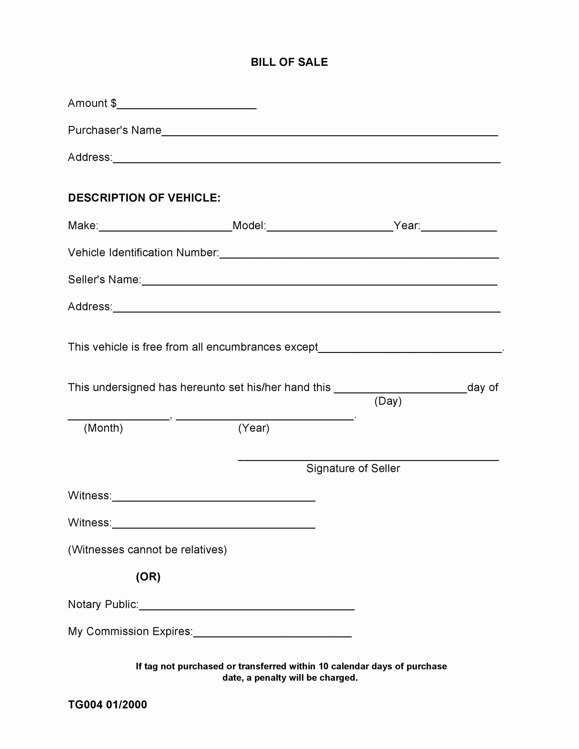 Auto Bill Of Sale Alabama Beautiful Free Madison County Alabama Bill Of Sale form Pdf