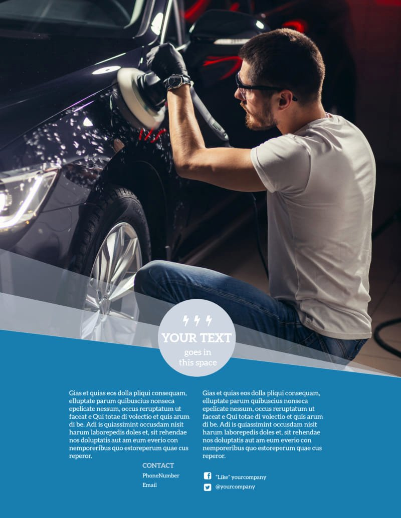 Auto Detailing Flyer Template Inspirational Auto Detailing Flyer Template