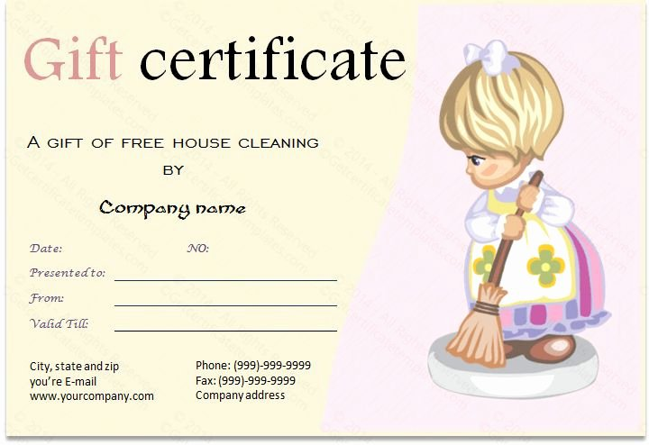 Auto Detailing Gift Certificate Template Luxury Gift Certificate for Services Template