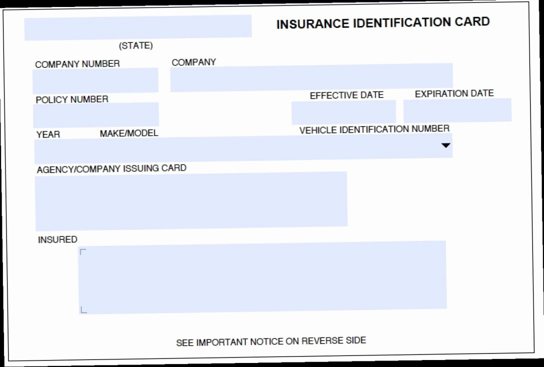 Auto Insurance Card Template Free Download Lovely Card Template Insurance Car Download Fake Progressive Free