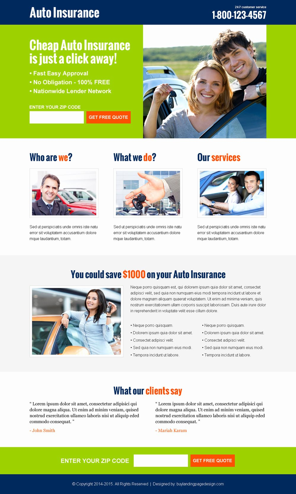Auto Insurance Template Free New Killer Auto Insurance Converting Responsive Lead Capture
