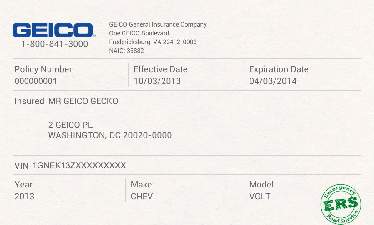 Auto Insurance Templates Awesome Auto Insurance Card Template