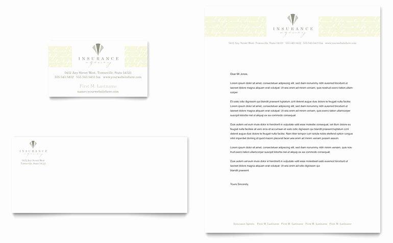 Auto Insurance Templates Inspirational Life & Auto Insurance Pany Business Card & Letterhead